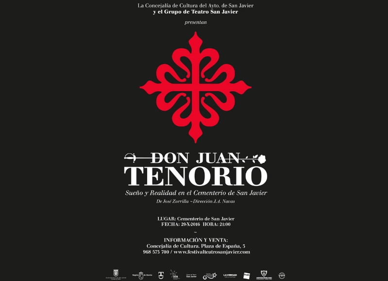ENTRADAS TENORIO ONLINE AGOTADAS