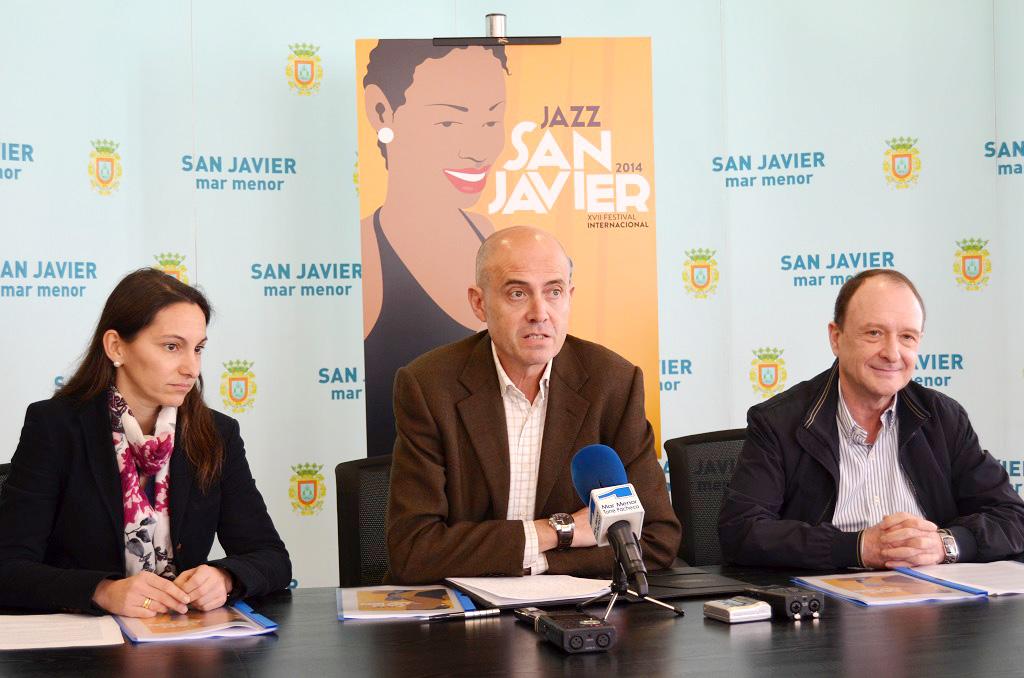 Presentación festival de jazz de San Javier 2014