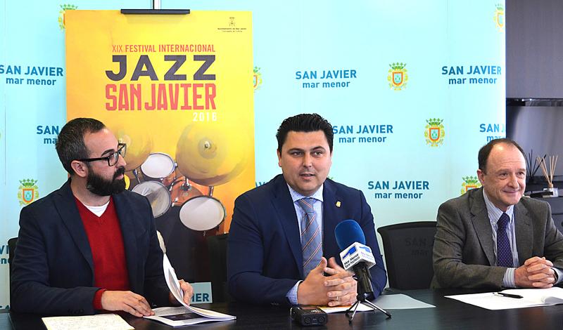 Avance de programación del XIX Festival Internacional de Jazz 2016